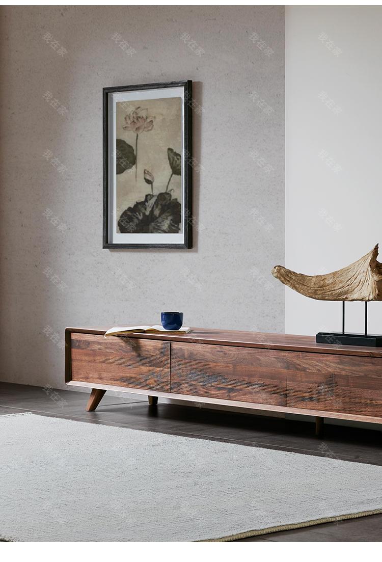 新中式风格剩山电视柜(样品特惠)的家具详细介绍