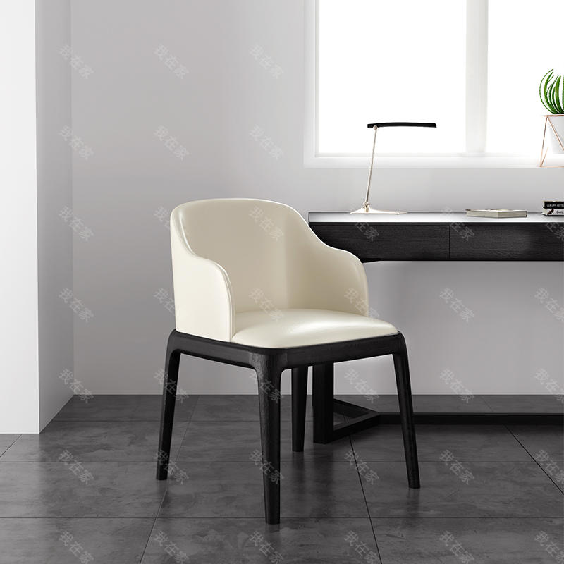 意式极简风格新主题书椅