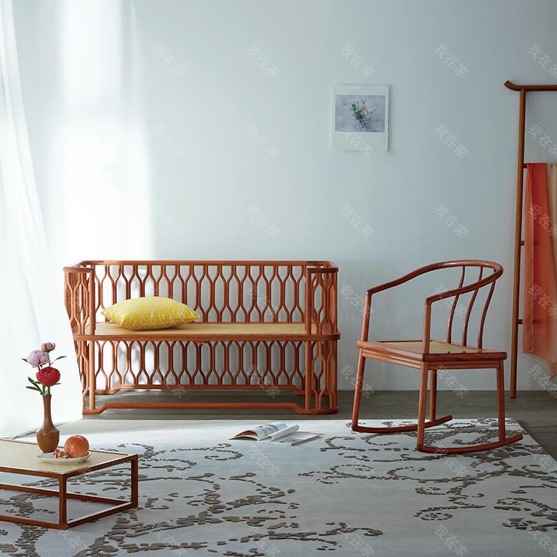 新中式风格合椅