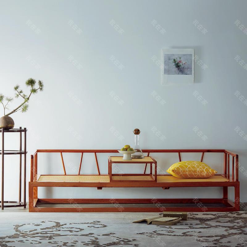 新中式风格雅直大禅床