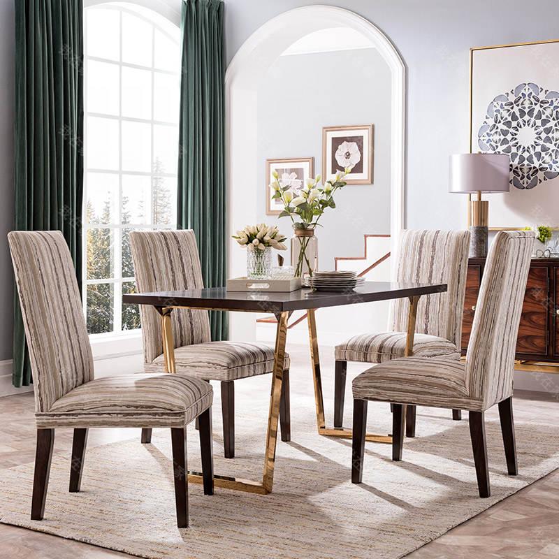 现代美式风格西西里餐桌