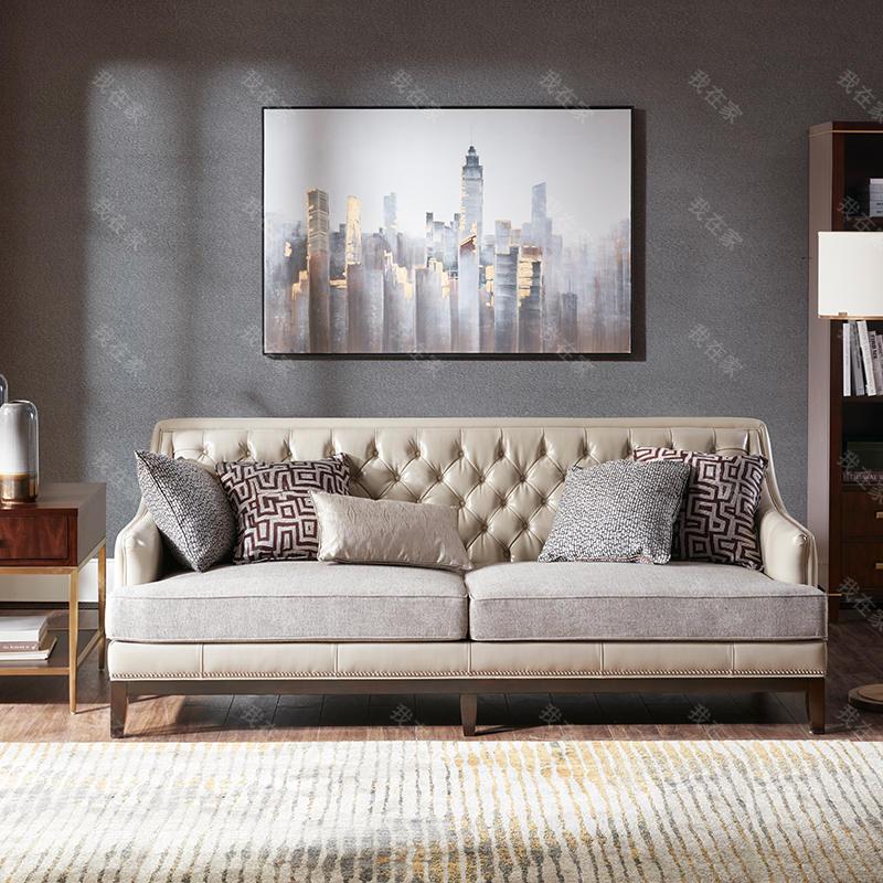 现代美式风格芝加哥风情沙发