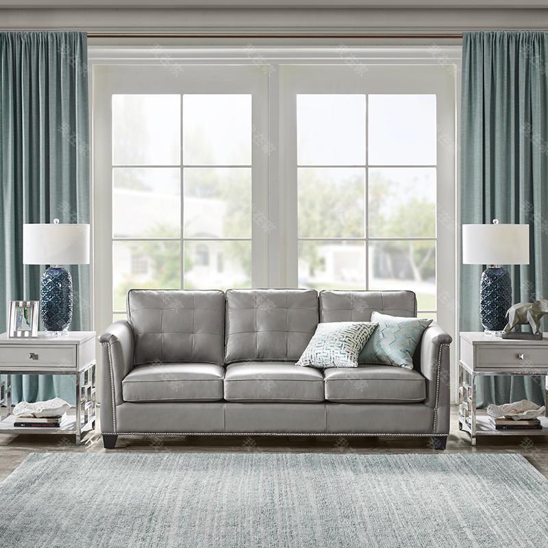现代美式风格曼哈顿沙发