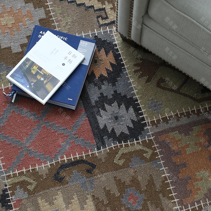 地毯品牌印度风异域风情羊毛地毯