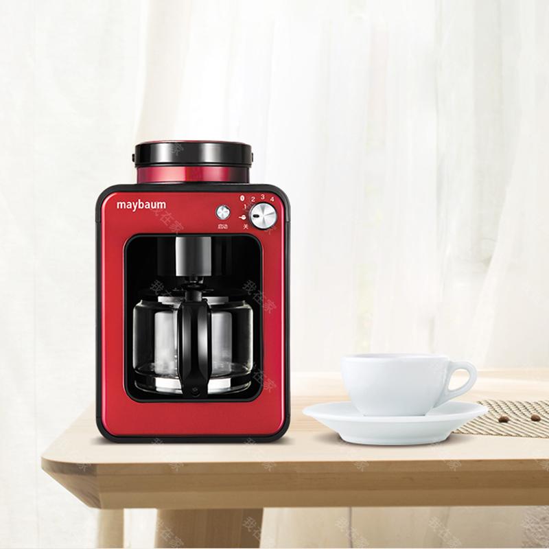五月树品牌迷你全自动磨豆咖啡机