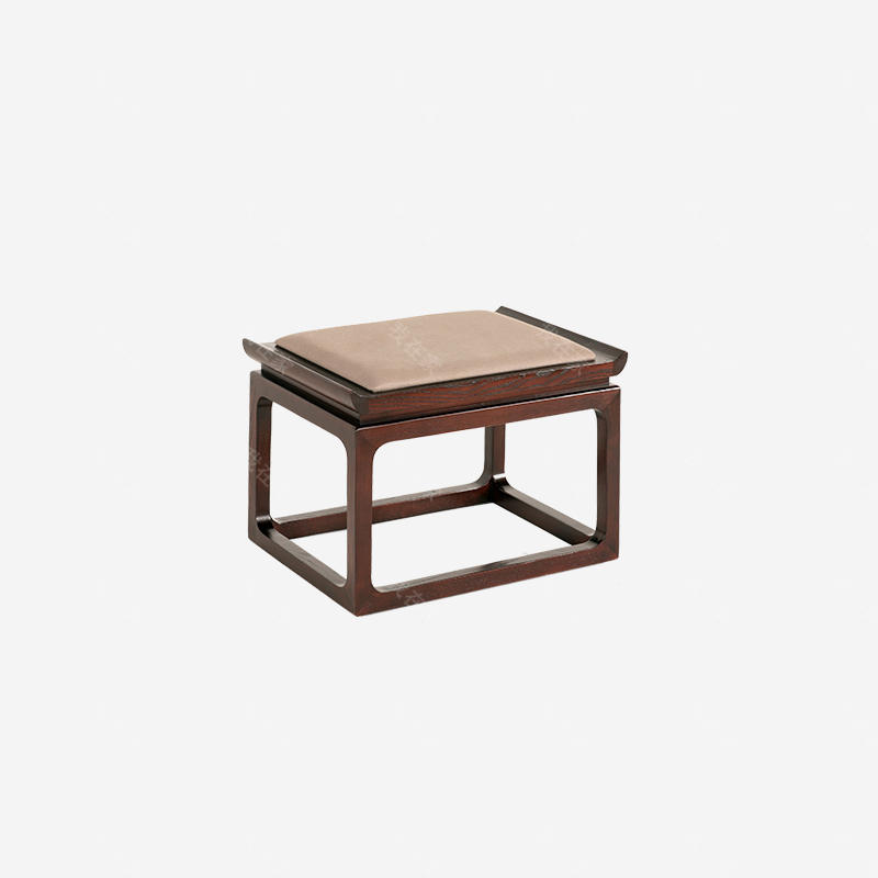 新中式风格舒悦方凳