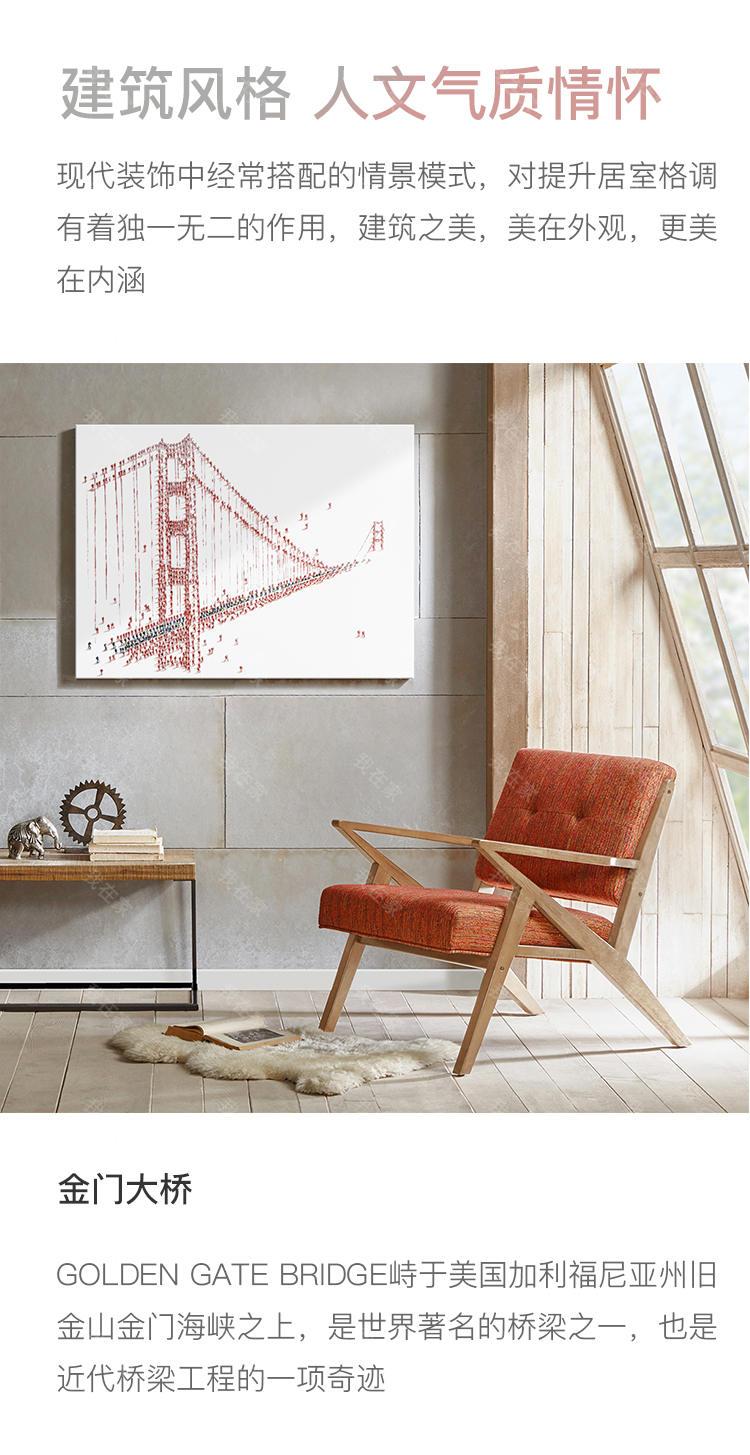 绘美映画品牌金门大桥--手绘画的详细介绍