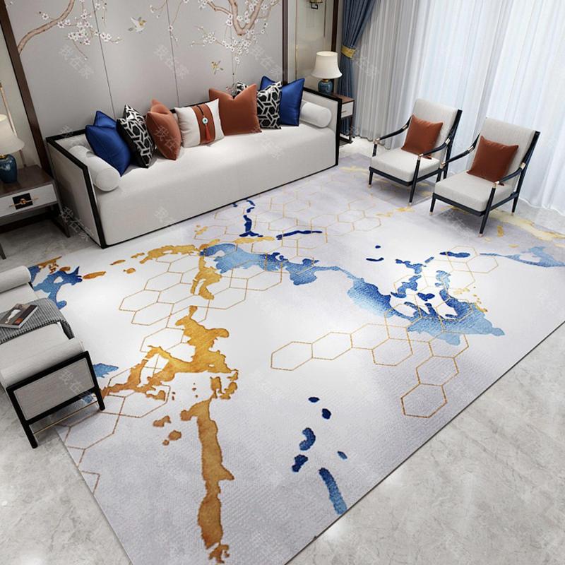 地毯品牌抽象色彩机织地毯