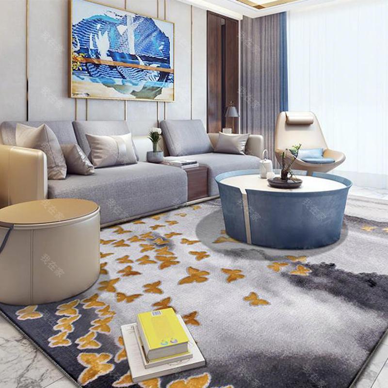 地毯品牌竹林嬉戏机织地毯