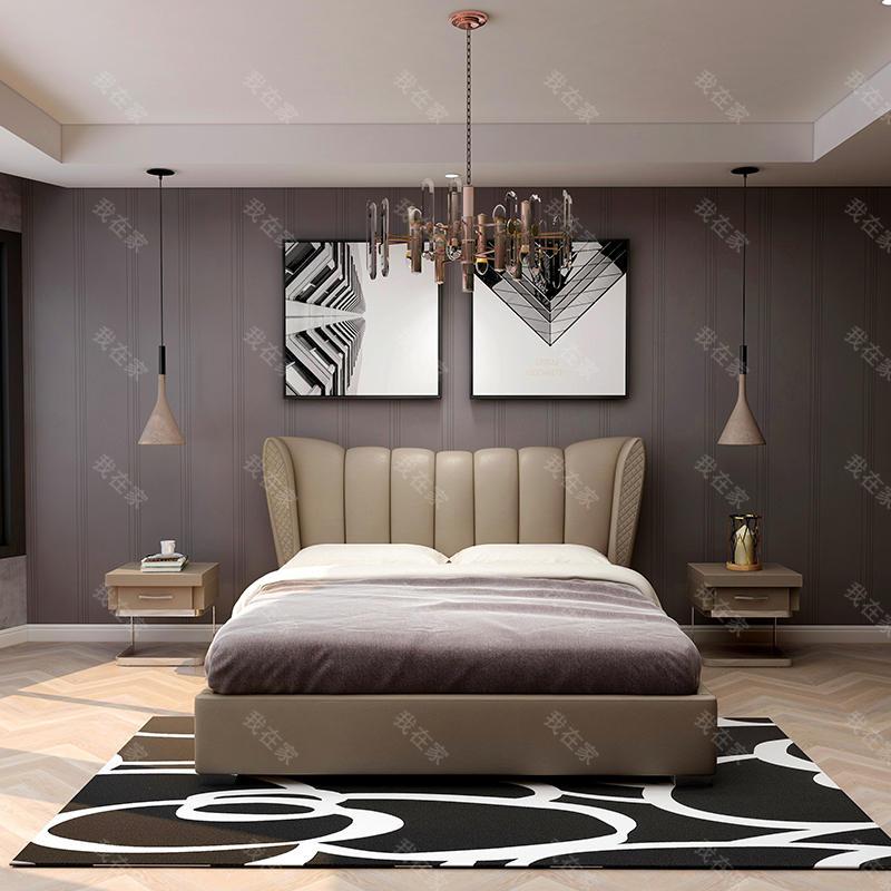 现代简约风格里昂双人床
