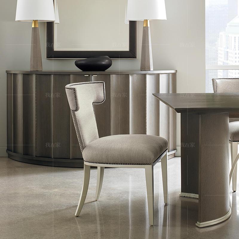 轻奢美式风格翼餐椅*2(样品特惠)