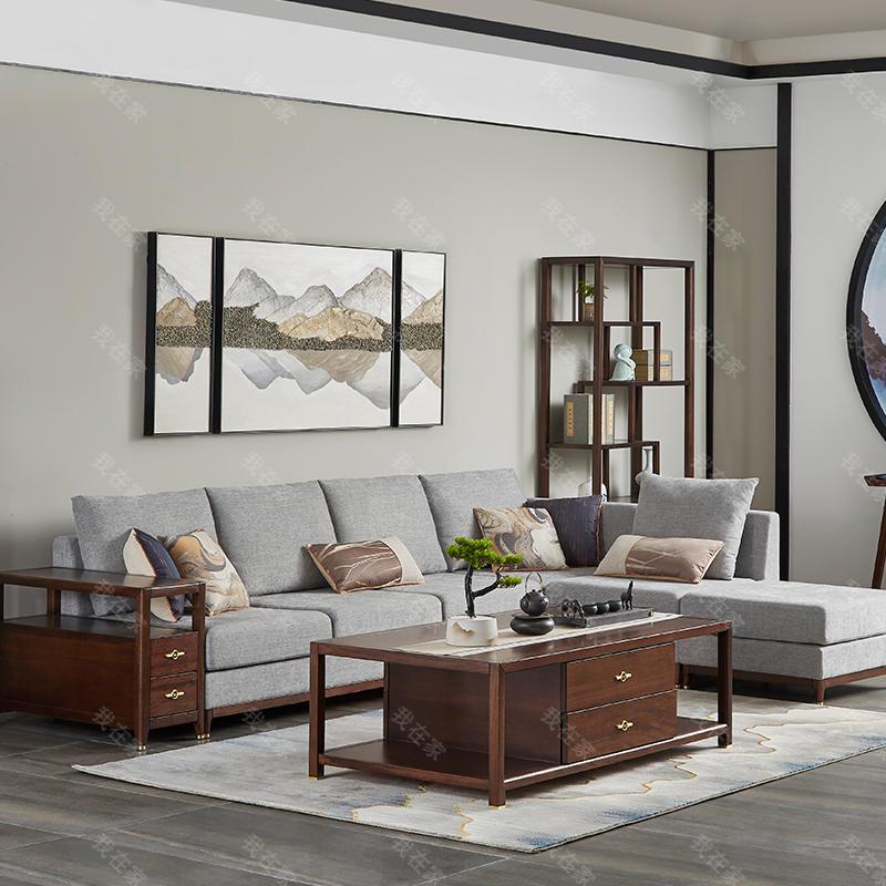 新中式风格青枫沙发