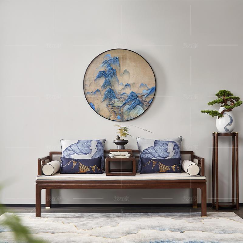 新中式风格春晓罗汉床