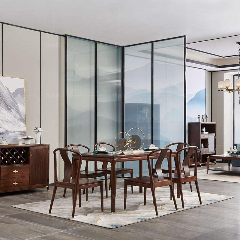 新中式风格春晓餐桌