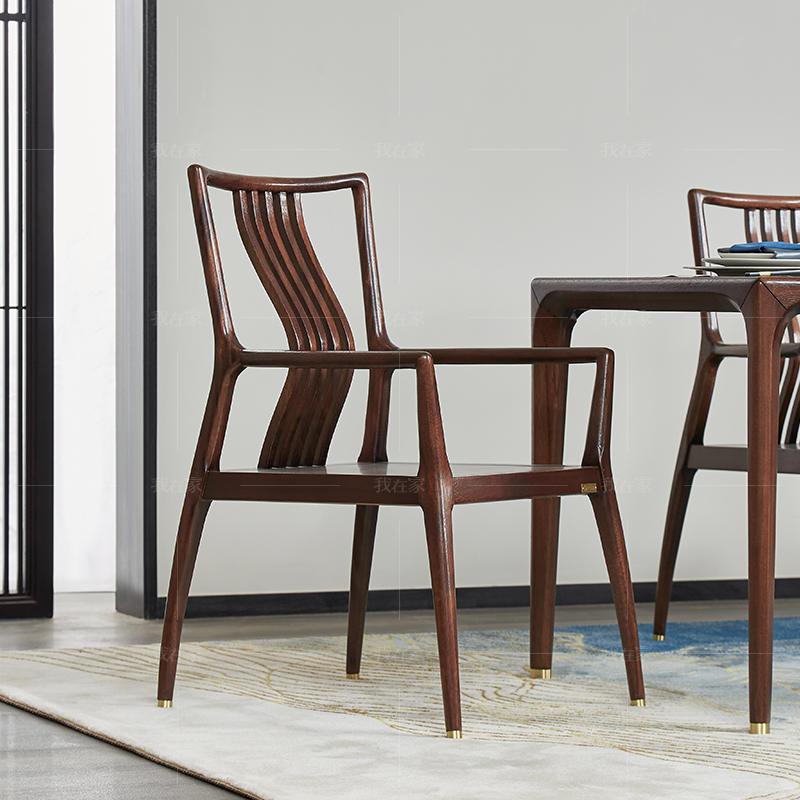 新中式风格春晓餐椅