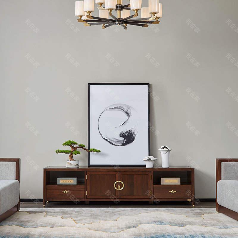 新中式风格西畔电视柜