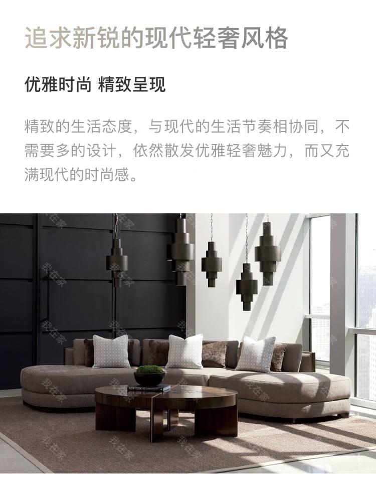 轻奢美式风格云斑谷咖啡桌的家具详细介绍