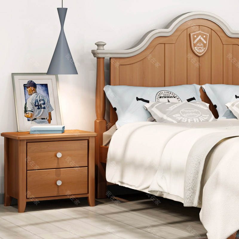 美式儿童风格美式-维斯床头柜