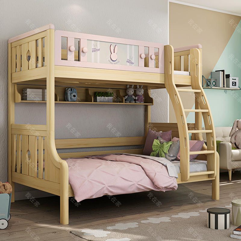 北欧儿童风格北欧-瑞贝特子母床