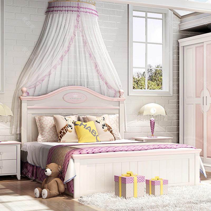 美式儿童风格美式-斯诺儿童床
