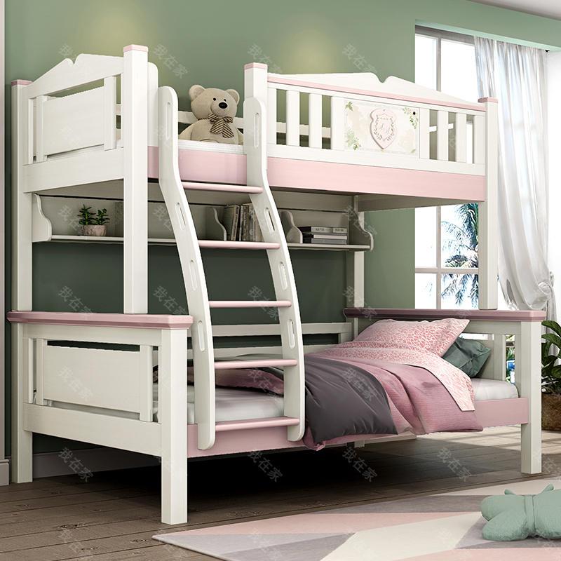 美式儿童风格美式-伊洛子母床