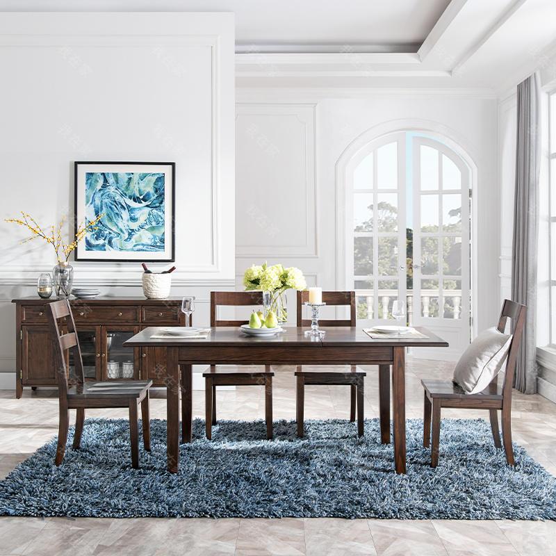 简约美式风格阿德莱德餐椅