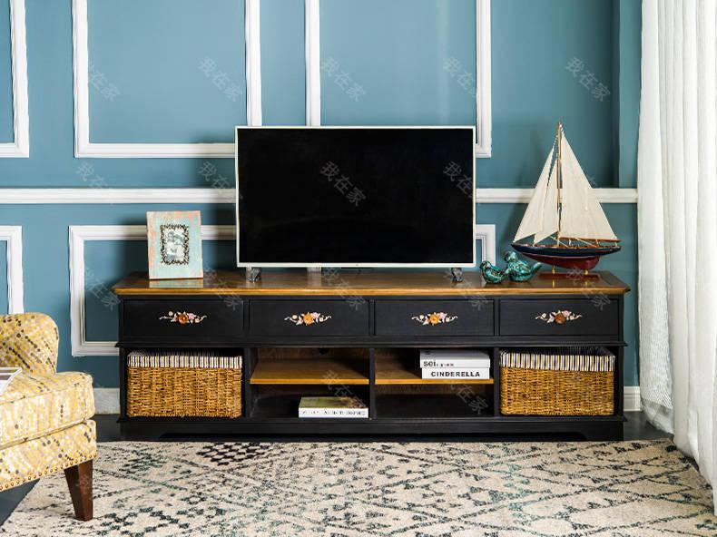 乡村美式风格埃文斯电视柜A款的家具详细介绍