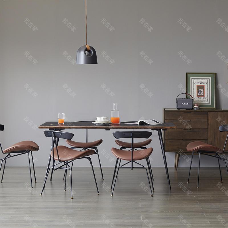 中古风风格克斯汀餐桌