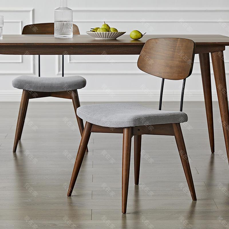 中古风风格奥尔堡餐椅