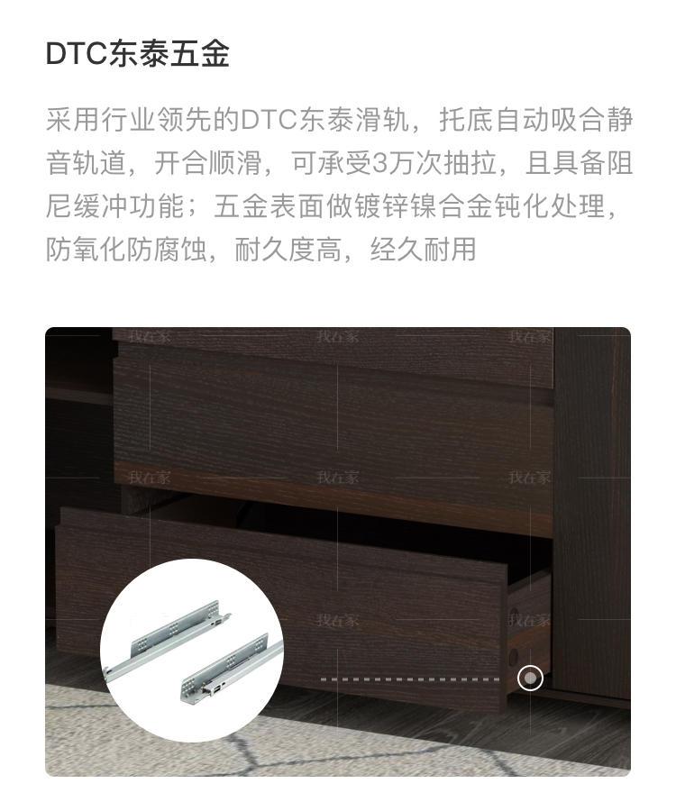 意式极简风格格度餐边柜的家具详细介绍