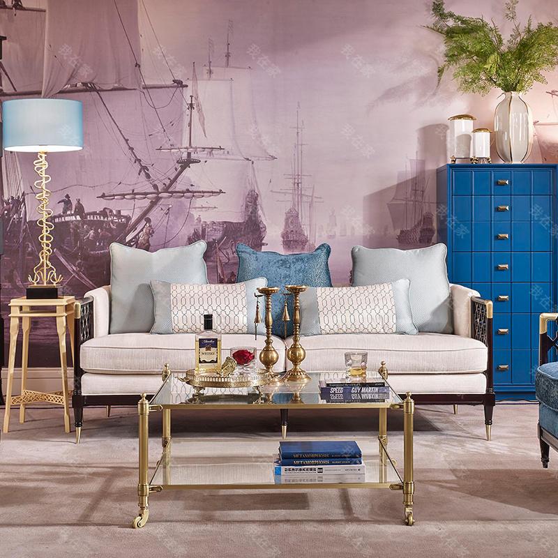 现代美式风格意凌沙发(样品特惠)