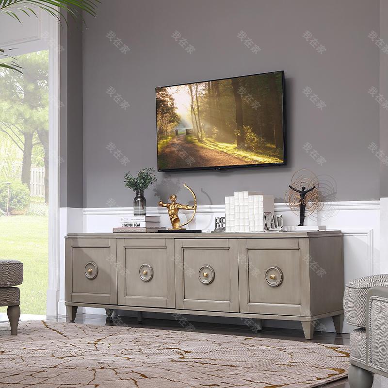 现代美式风格华盛顿电视柜