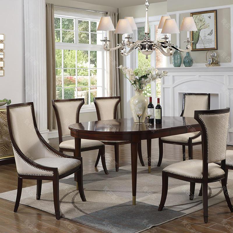 现代美式风格雷耶斯餐椅A款