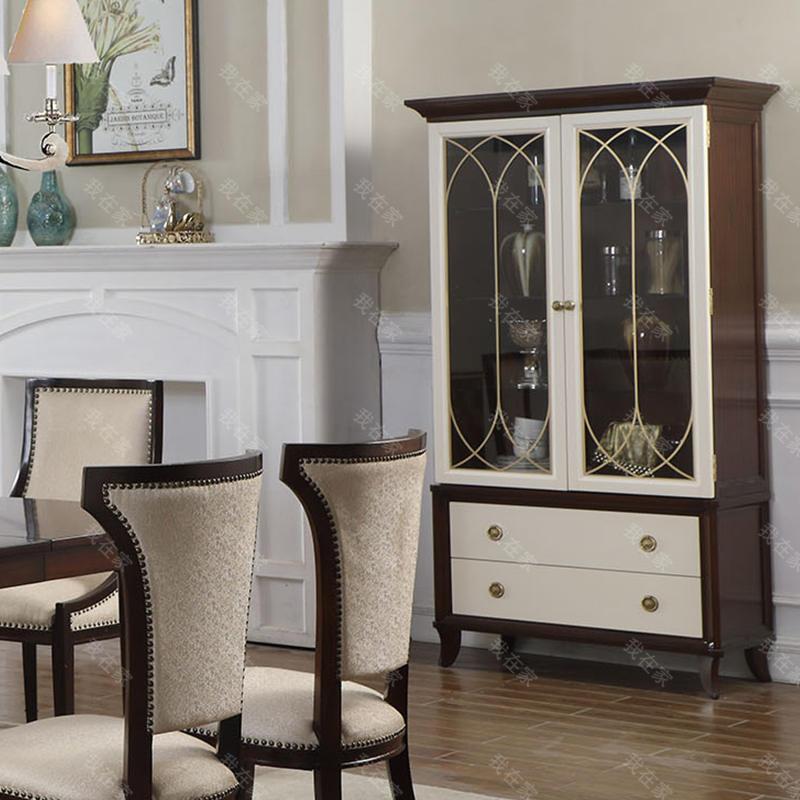现代美式风格雷耶斯酒柜