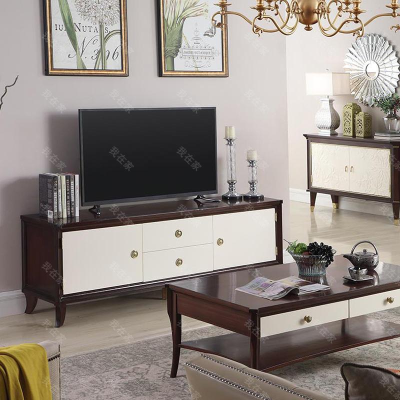 现代美式风格雷耶斯电视柜