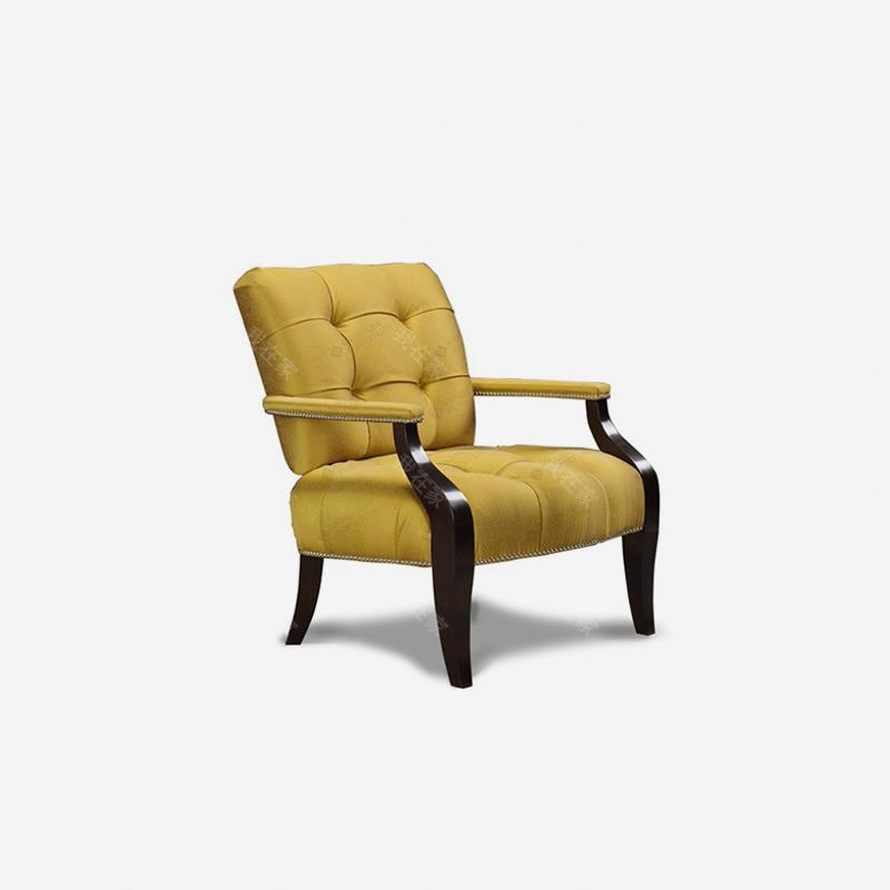 现代美式风格雷耶斯休闲椅