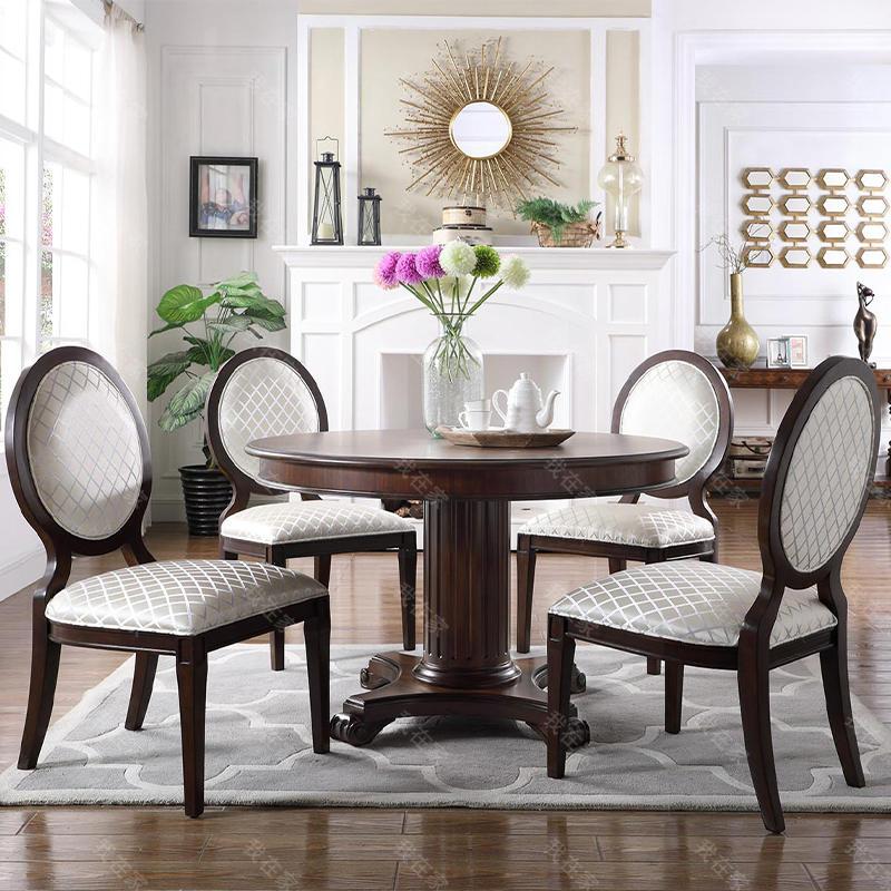 现代美式风格林肯餐椅