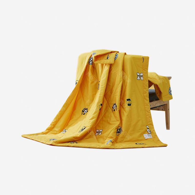 小黄人品牌小黄人全棉薄被空调被