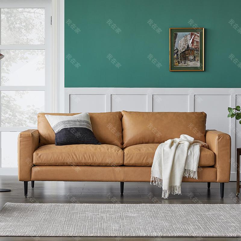 原木北欧风格莳光沙发