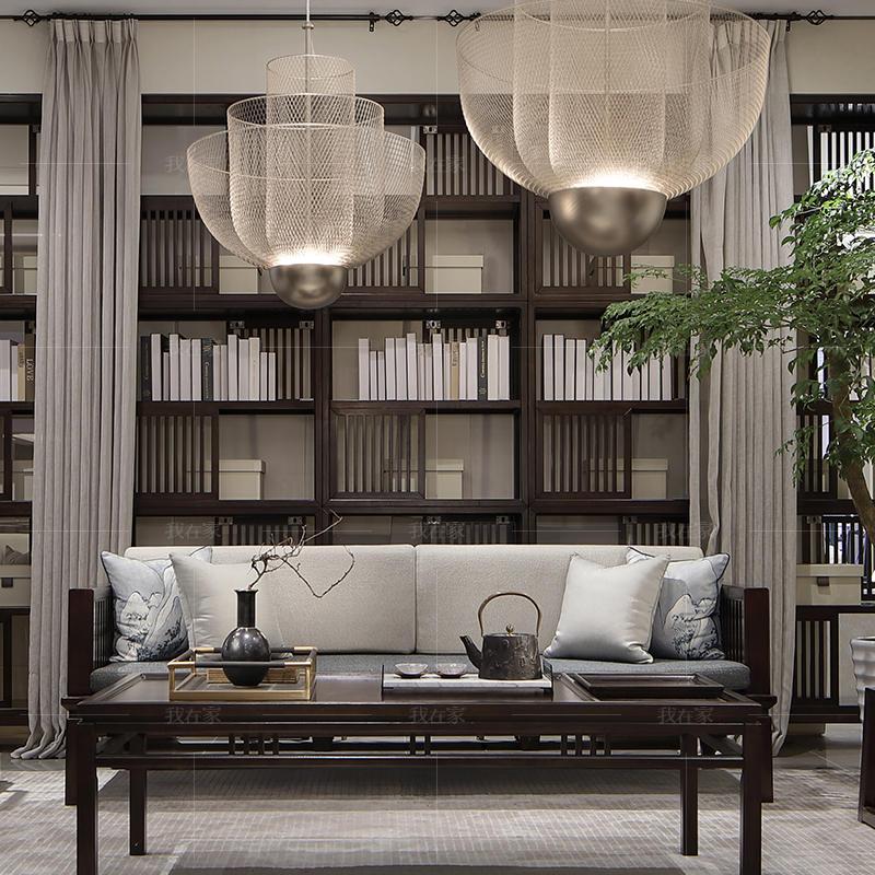 新中式风格吟风沙发
