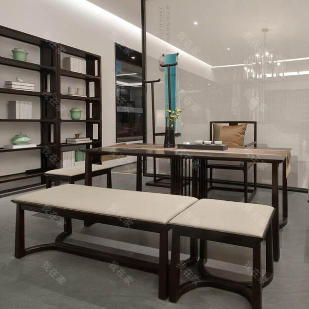 新中式风格万物茶凳