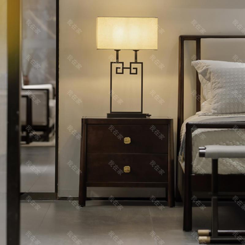 新中式风格万物床头柜(样品特惠)