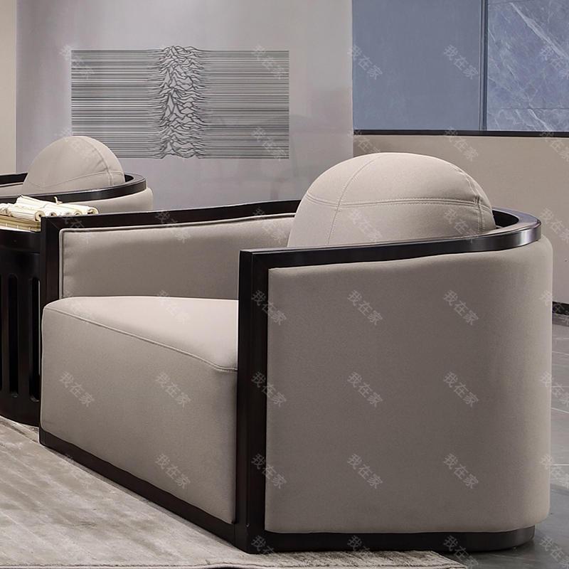 新中式风格万物休闲椅(样品特惠)