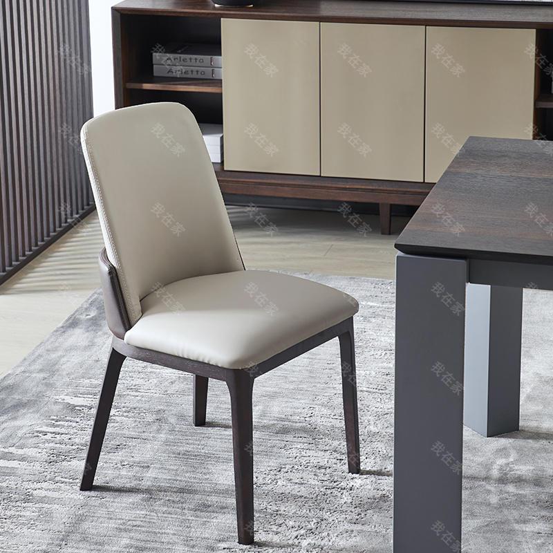 意式极简风格弗利餐椅