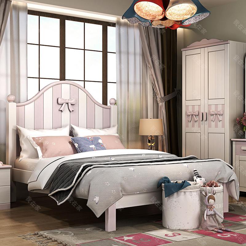 北欧儿童风格北欧-西芙儿童床