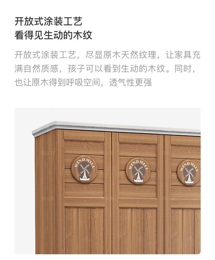 美式儿童风格美式-尼尔德衣柜的家具详细介绍