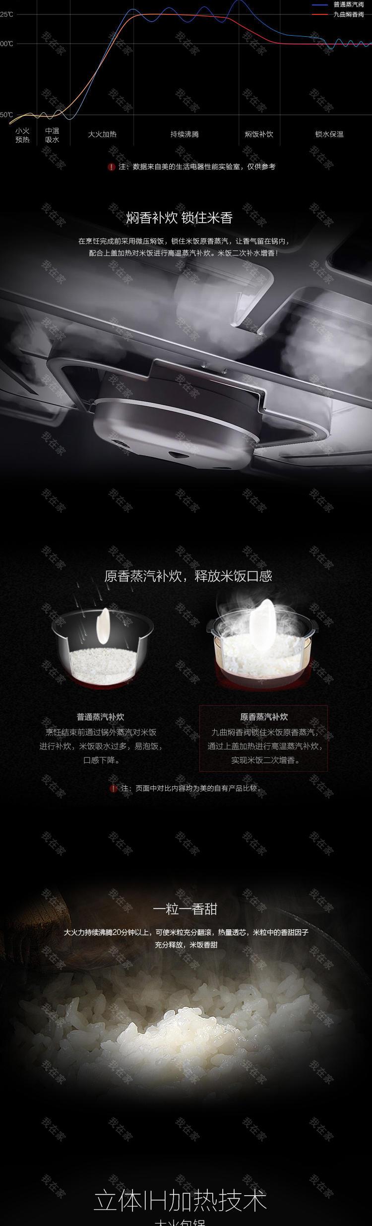 美的品牌美的九曲焖香IH电饭煲的详细介绍