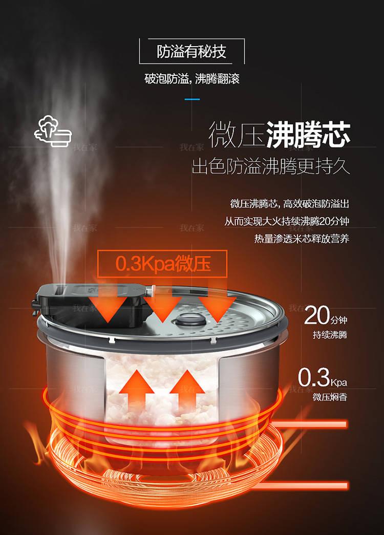 美的系列美的微压立体IH电饭煲的详细介绍