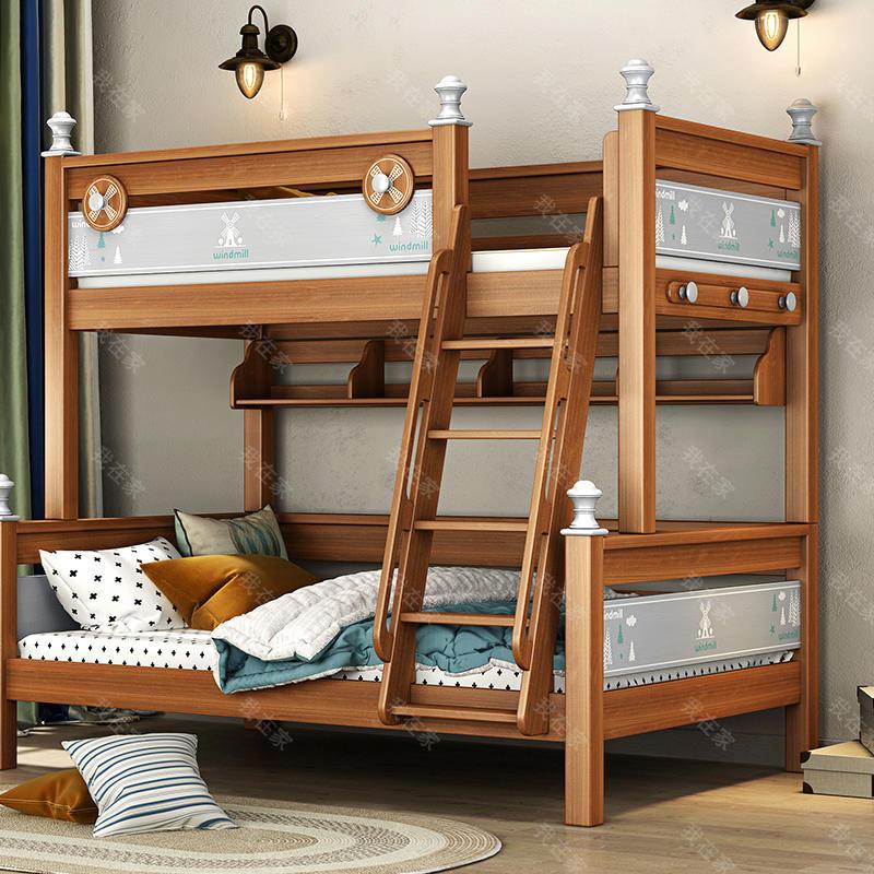 美式儿童风格美式-巴泽尔子母床