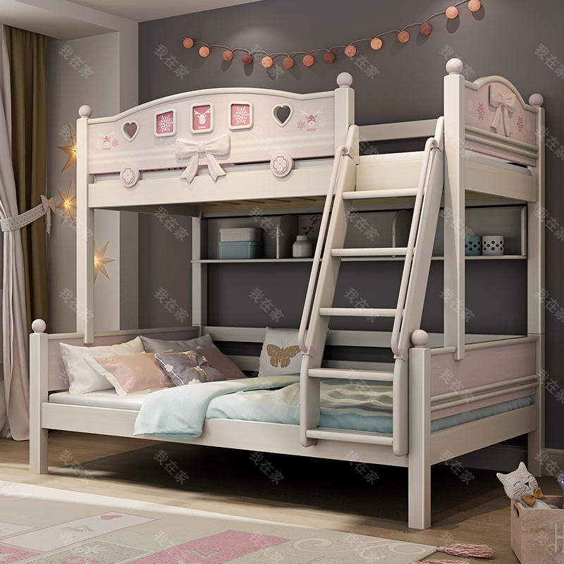 北欧儿童风格北欧-梵妮子母床